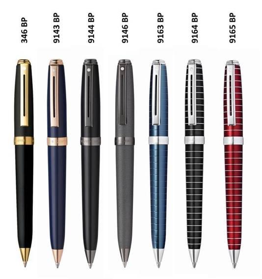 9146 BP Długopis Sheaffer Prelude, grafitowy, wykończenia w kolorze czarnym