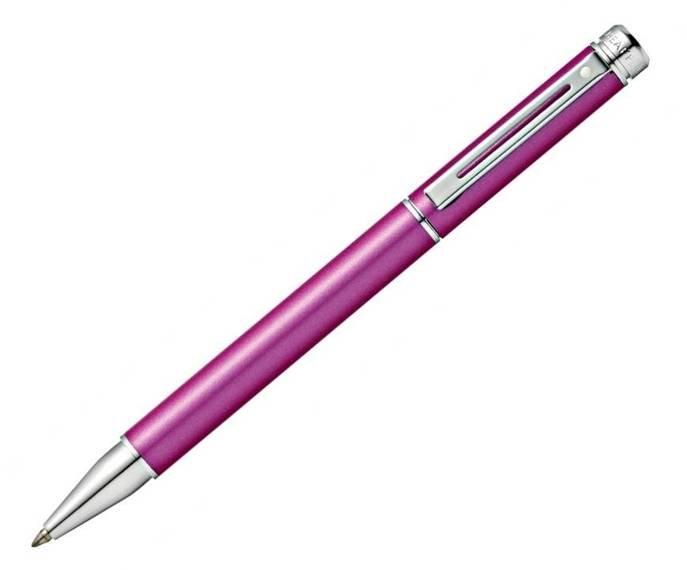 9156 Długopis Sheaffer kolekcja 200, różowy, wykończenia chromowane