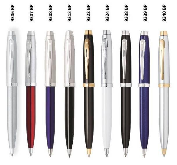 9324 BP Długopis Sheaffer kolekcja 100, biały, wykończenia chromowane