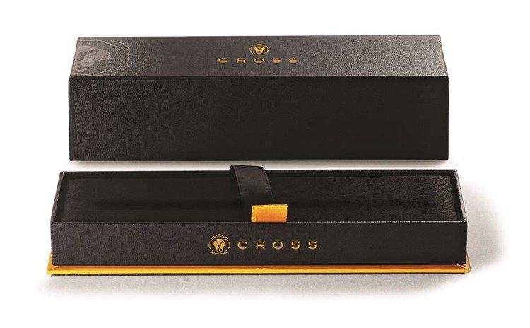Długopis Cross ATX w kolorze różowego złota, elementy czarne