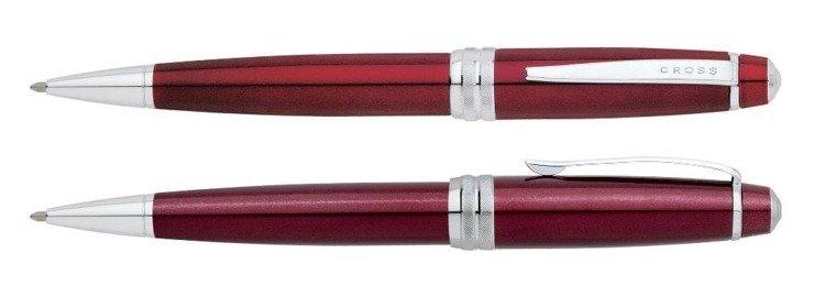 Długopis Cross Bailey czerwony, elementy chromowane