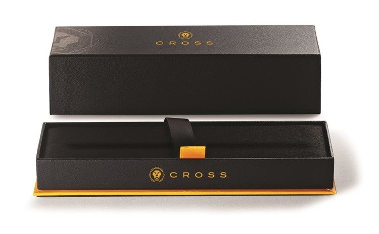 Długopis Cross Click czarny, elementy chromowane
