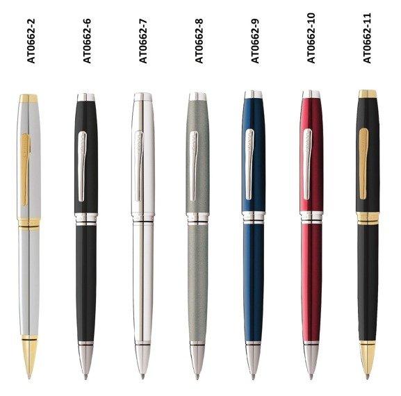 Długopis Cross Coventry czarny, elementy chromowane