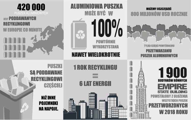 Długopis LE ITALY Revolution solid ALrPET szary