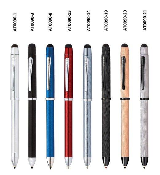 Długopis, ołówek i stylus Cross Tech3+ chromowany korpus i elementy