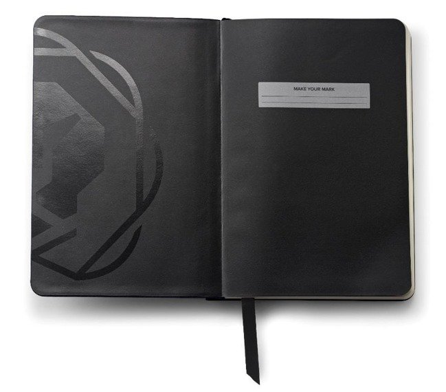 Notes Cross Journals czarny mały, A6, blok w linie