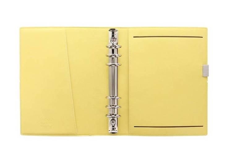 Organizer fILOFAX Domino Soft A5, żółty