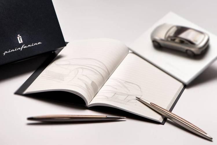 PININFARINA Segno Ethergraf® Cambiano Aluminium z aluminiowymi dodatkami