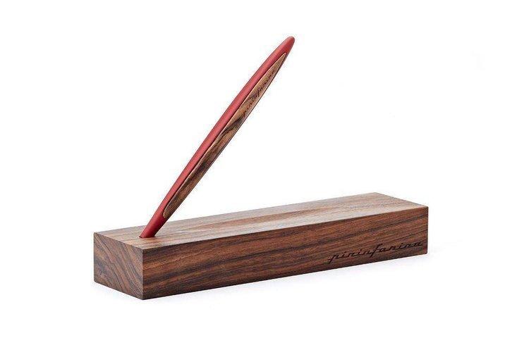 PININFARINA Segno długopis Cambiano Ink Red z dodatkami w kolorze czerwonym