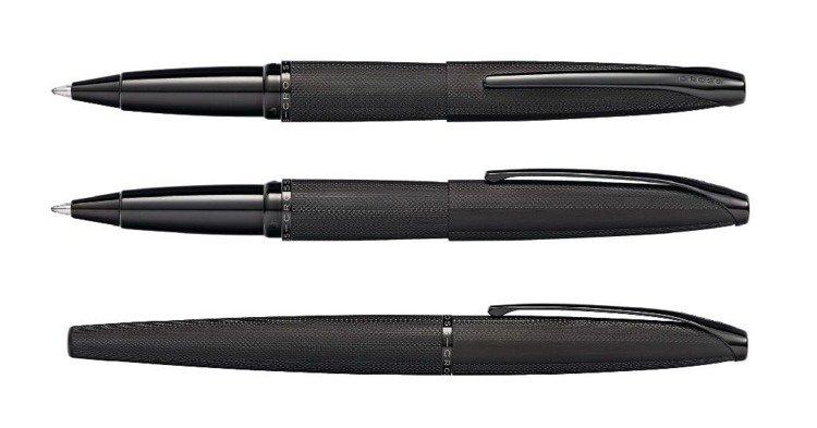 Pióro kulkowe Cross ATX czarne, elementy czarne