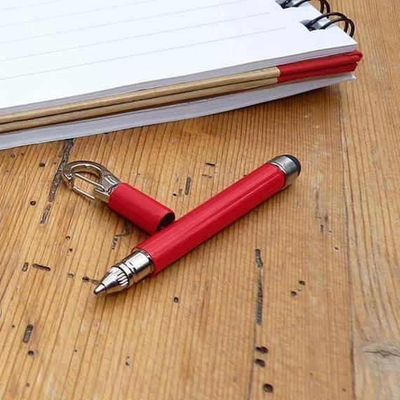 TU257R True Utility Długopis teleskopowy StylusPen, czerwony